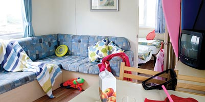 Beach Retreat caravan on Devon holiday parks