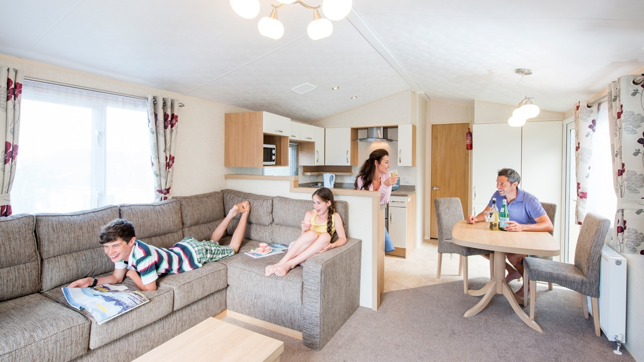 Caravan holidays devon rent a static caravan woolacombe for Living naked at home