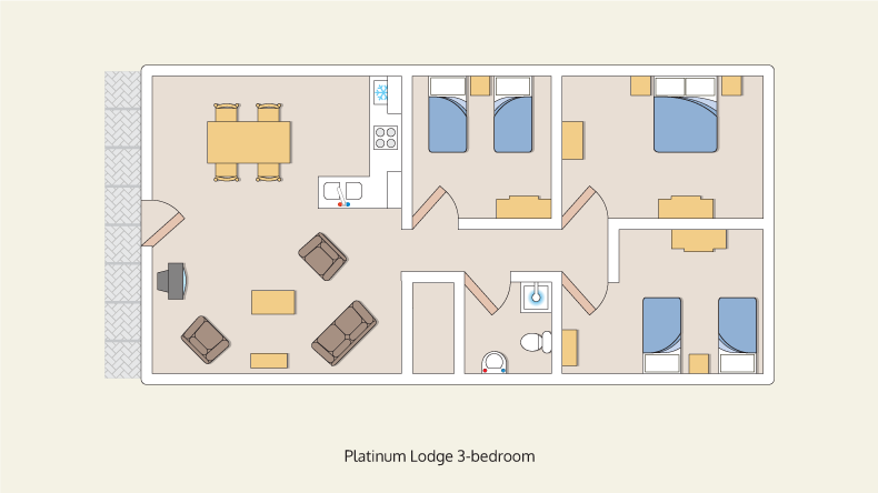 lodges platinum 3 bedroom