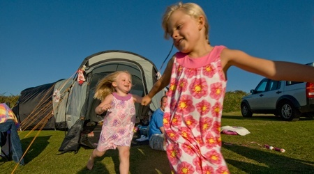 Camping holidays in North Devon