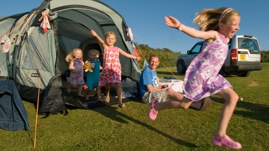 camping touring offers in Devon