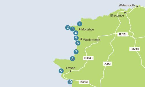 North Devon Beach Guide Woolacombe Croyde Saunton