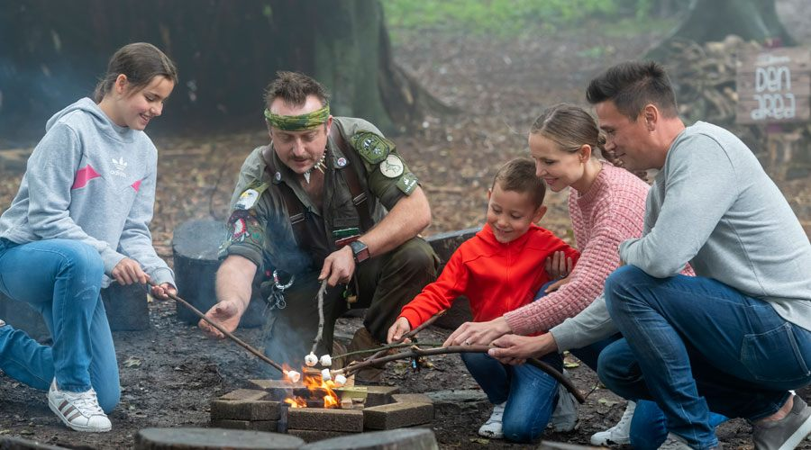 Wildlife and bush craft outdoor activities in North Devon