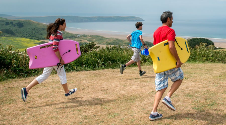 Reasons families choose Woolacombe Bay