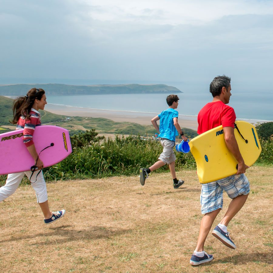 Loyalty benefits at Woolacombe Bay family holidays