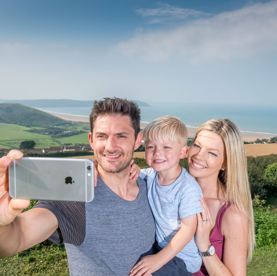 Family holidays in Woolacombe