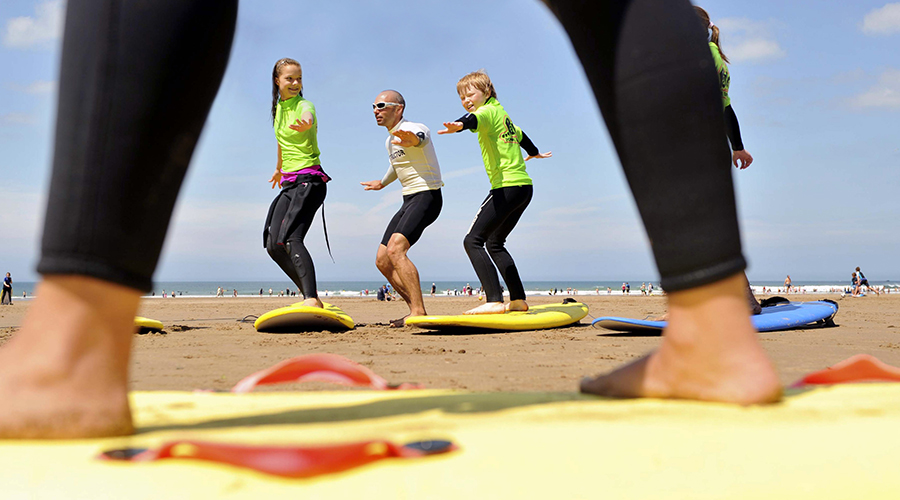 Surf lessons Devon and Cornwall