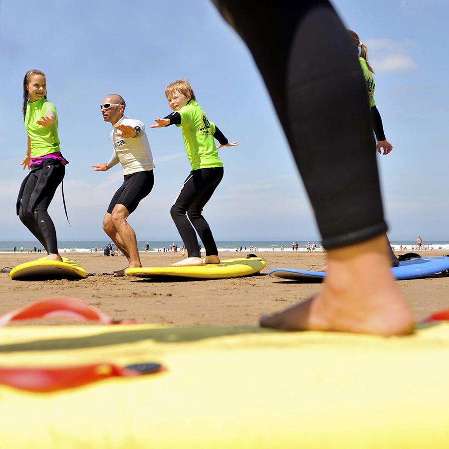 Surf school Woolacombe