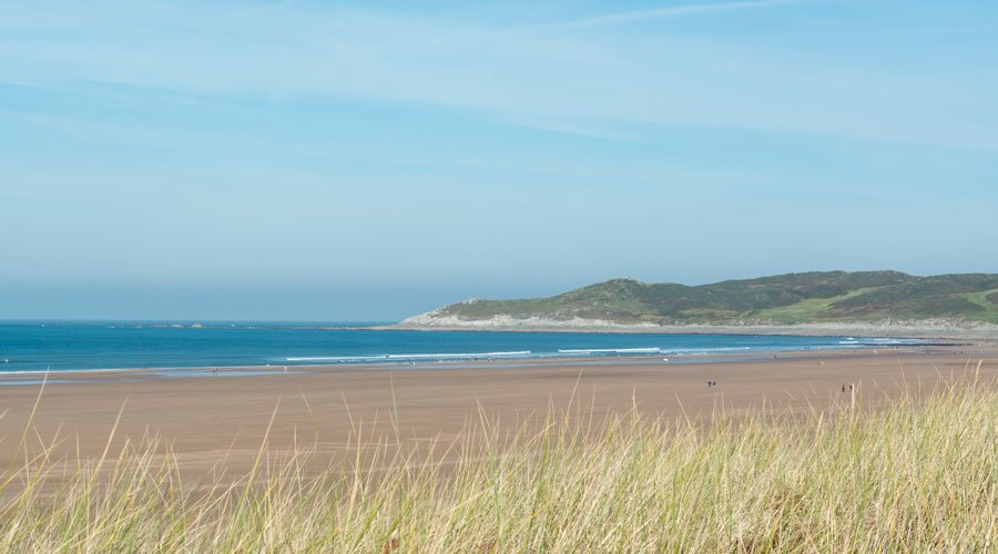 Woolacombe Bay beach
