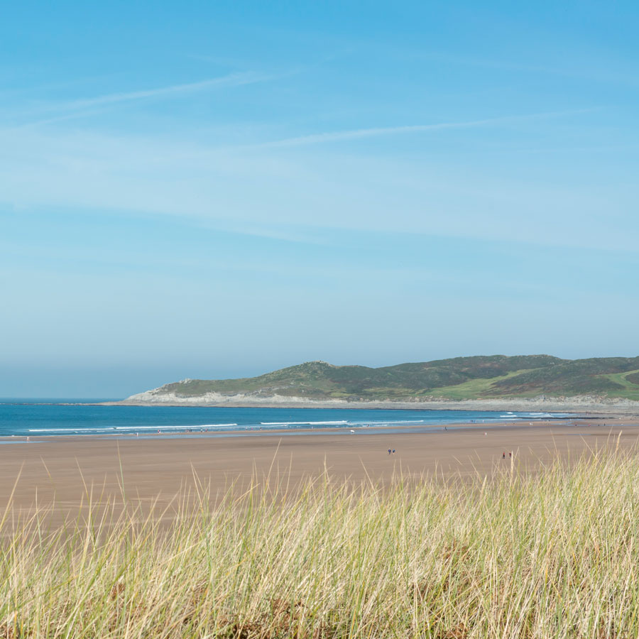 Woolacombe sands beach