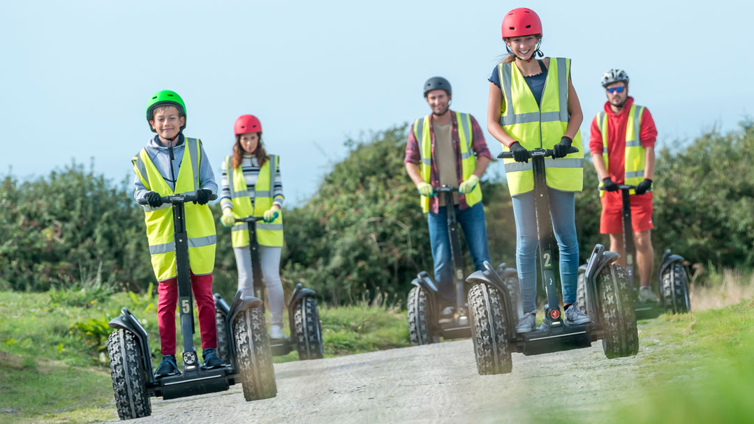 Segway at Woolacombe Bay Holiday Park