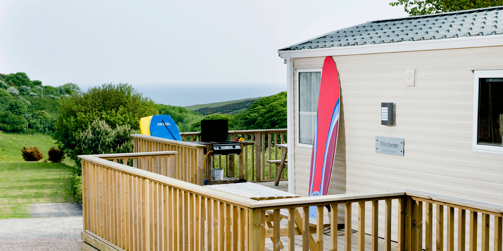 Easewell Farm caravan and camping campsite Woolacombe